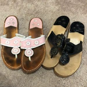 Two pair Bundle Jack Rogers Size 11